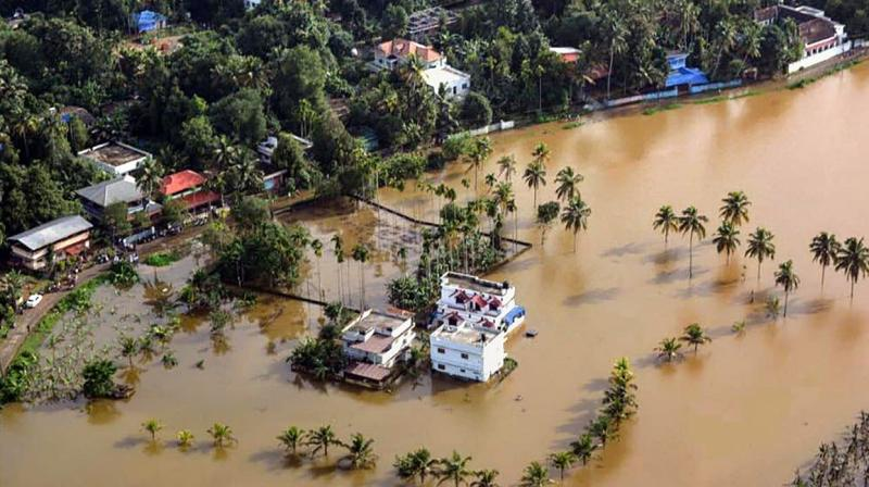 Climate change is already affecting every region on earth, in multiple ways. A file photo of the massive 2018 Kerala floods. (PTI)