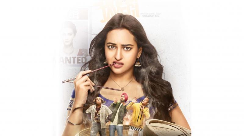Still from the movie Happy Phirr Bhag Jayegi