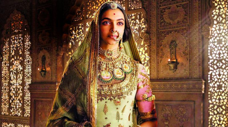 Deepika Padukone in a still from the movie Padmaavat