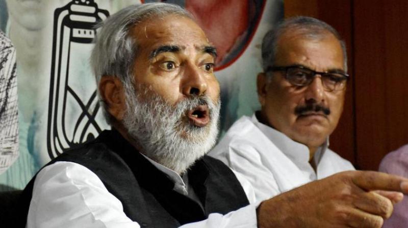 Former RJD leader Raghuvansh Prasad Singh