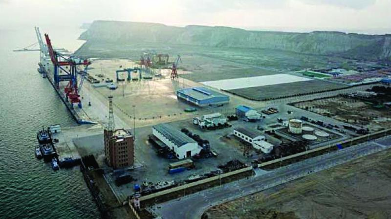 A second agreement was signed between Gwadar and HATA Trade City.