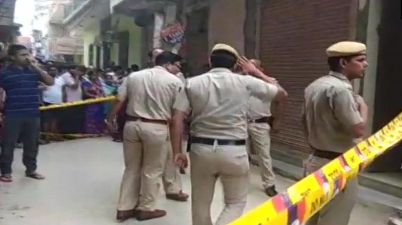 A police team has been rushed to the spot and an investigation is underway. (Photo: Twitter/ANI)