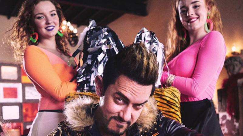 Aamir Khan in a still from 'Secret Superstar'.