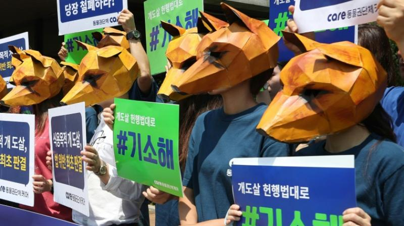 Dog meat consumption has declined as South Koreans increasingly embrace the idea of dogs as man's best friend rather than livestock.