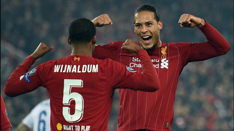 Despite admitting Manchester City are a fantastic team, Liverpool's Virgil van Dijk said he has 'no fear' to compete against them. (Photo:AFP)