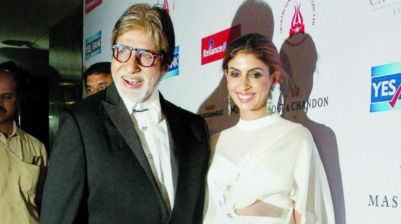 Shweta is the most intelligent and balanced Bachchan. She's very objective in her assessment of situations. Whenever we reach a dead-end during a family discussion, we call her for advice. We always keep going back to her for her wise opinions.Shweta is also a voracious reader — Amitabh Bachchan