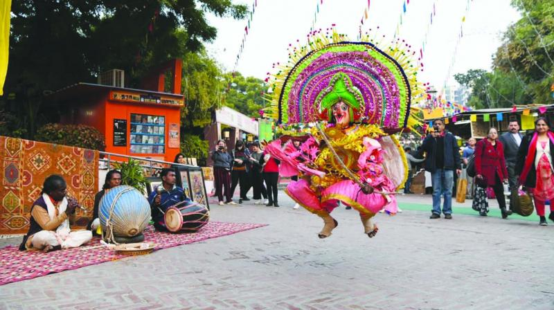 The Dilli Haat was established in 1994 and Jaya has been part of its founding committee.