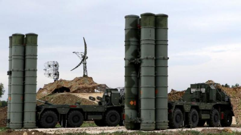 India had signed a USD 5.43-billion deal with Russia for the purchase of five S-400 systems during the 19th India-Russia Annual Bilateral Summit in New Delhi on October 5 last year for long-term security needs. (Photo: AFP)