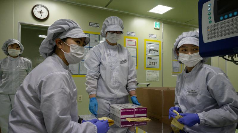 S.Korea reports 146 new coronavirus cases, highest in a week