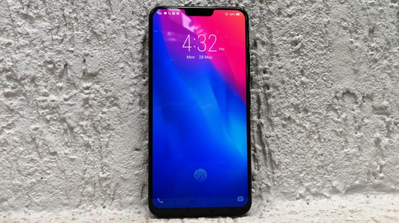 The Vivo X21 is a smartphone that will probably bring out the 9-year-old in you.