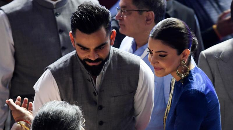 DDCA president Rajat Sharma, Union Home Minister Amit Shah, and the entire Indian team were present on the occasion. (Photo: AFP)