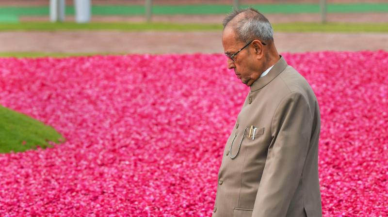 Pranab Mukherjee: 1935-2020. (PTI file photo)