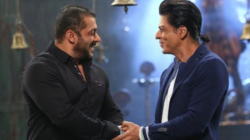 Salman and Shah Rukh are famous for their hit jodi in the movie Karan Arjun