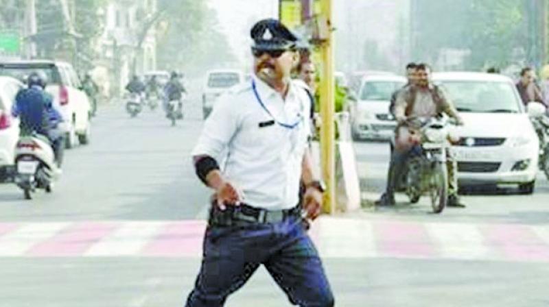 Ranjit Singh aka Indore's Singham cop.