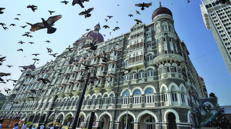 The Hotel Taj in Mumbai. (PTI)