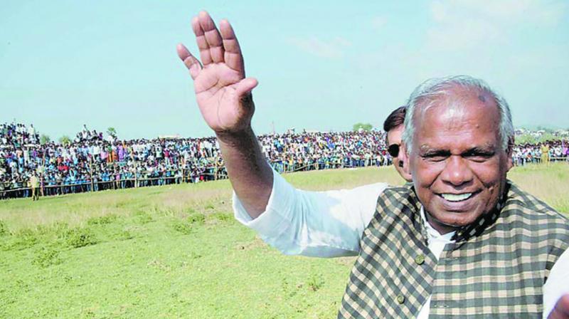 Hindustani Awam Morcha (secular)  president Jitan Ram Manjhi (Photo: File)
