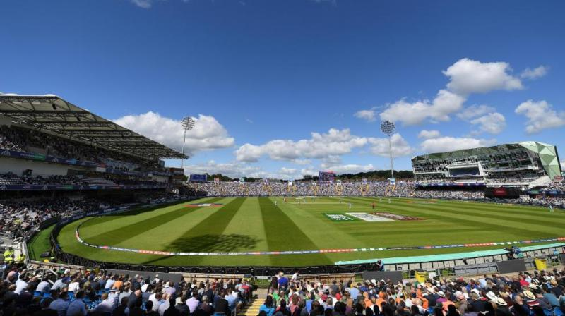 Headingley, Leeds (Photo: Cricket World Cup/Twitter)