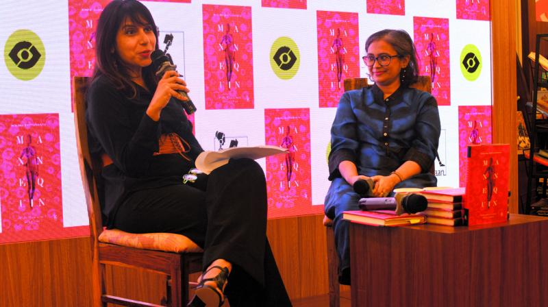 Deepa Rao (L) and Manjima Bhattacharjya (R)
