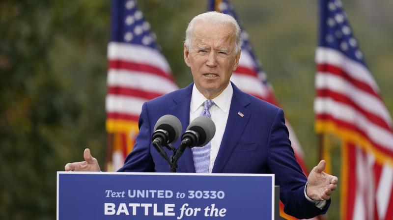 Mr Biden has a difficult, complex, sensitive job on his hands. If he succeeds, an impulse toward future insurgencies can be held in check. (Photo:AP)