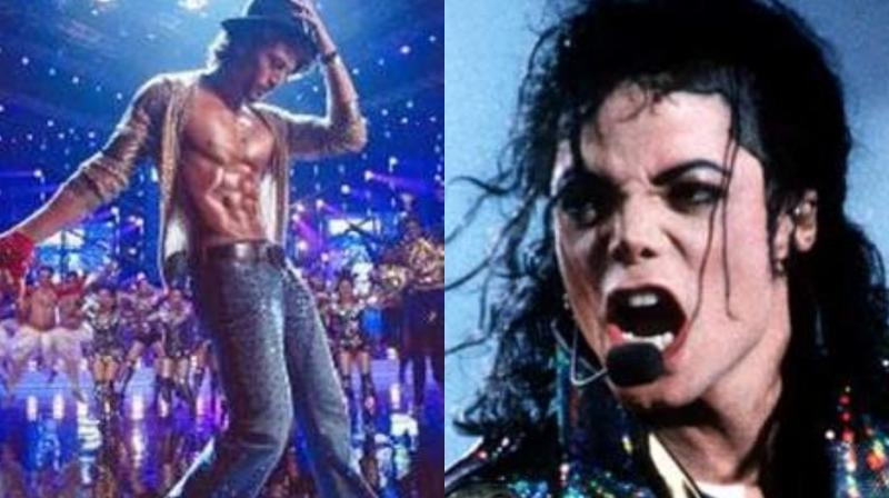 Tiger Shroff's character in 'Munna Michael' had a reference to Michael Jackson.