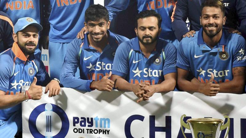 Rohit Sharma hit 202 runs to maintain the No.2 spot in the batting chart. (Photo: PTI)