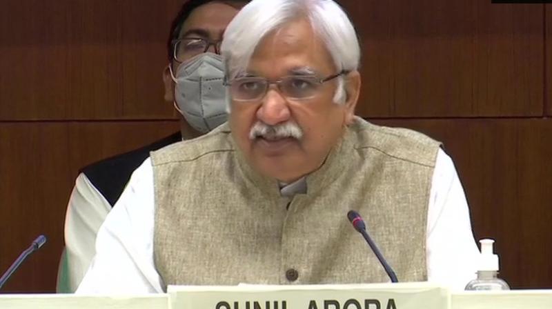 Chief Election Commissioner Sunil Arora. (ANI)