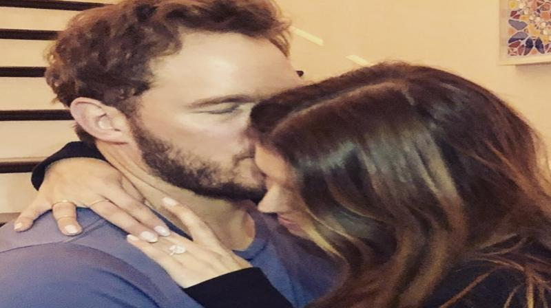 Chris Pratt and Katherine Schwarzenegger. (Photo: Instagram)