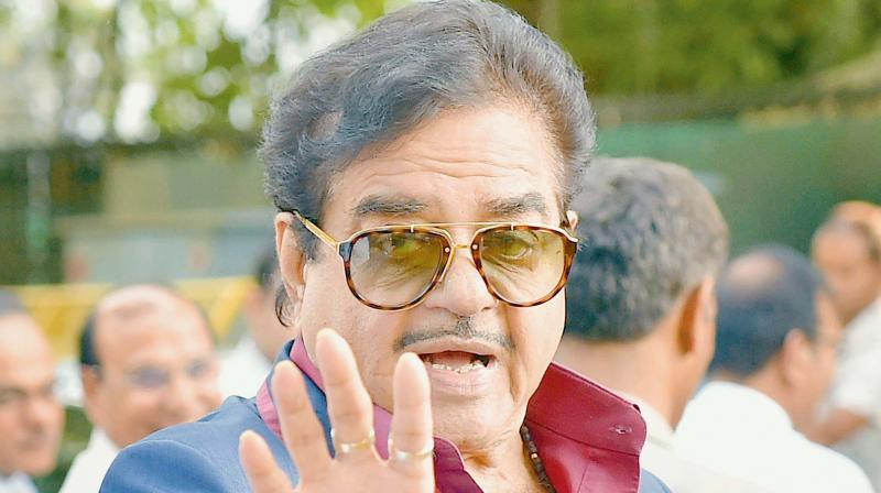 It is believed that actor-turned-politician Sinha was dropped from the list as he has been critical of the political quarters' top leadership on various occasions in the past. (Photo: File)