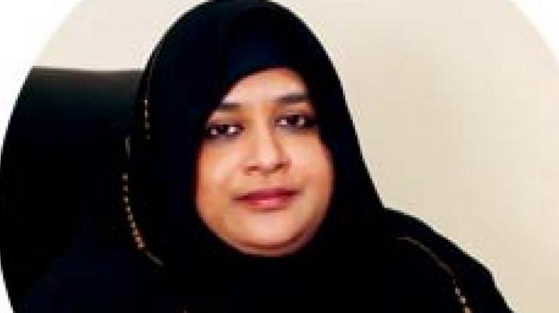 Nowhera Shaik, national president of MEP