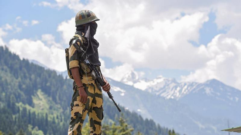 The shelters were installed in locations near Tashigong, Manza, Hot Springs and Churup among others, in reflection of simmering tensions between the two sides in the region, (Representational image : PTI)
