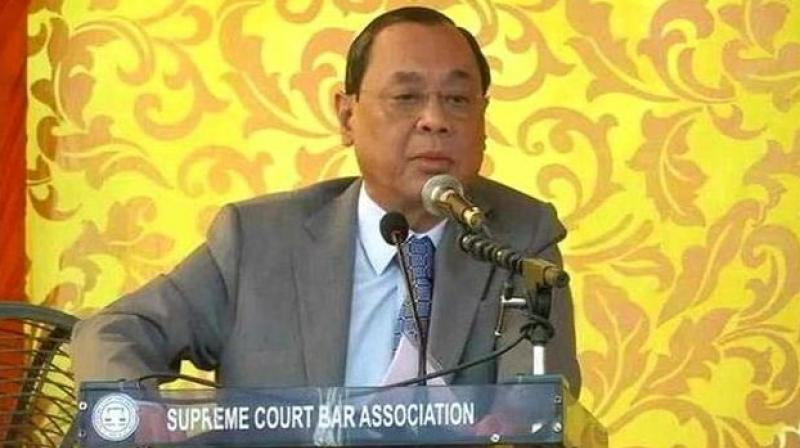 The Bar Council of India (BCI) has opined that there was 'something fishy' in the sexual harassment allegations levelled by a former employee of the Supreme Court against Chief Justice of India (CJI) Ranjan Gogoi. (Photo: File)