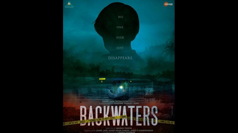 First look announcement poster of 'Backwaters'