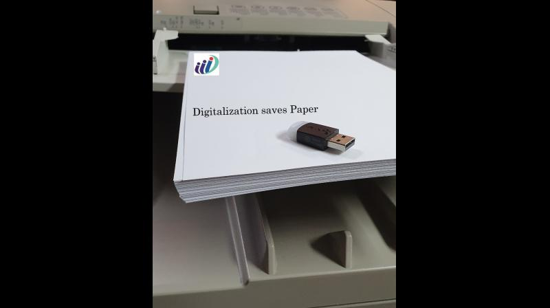 A trend of going paperless has been noticed by many companies worldwide, and one of them is India International Insurance