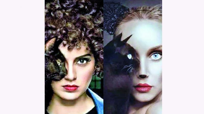 A member of the Judgementall Hai Kya team informs that the offending poster showing one-half of Kangana Ranaut's face covered by a cat, will be immediately withdrawn.