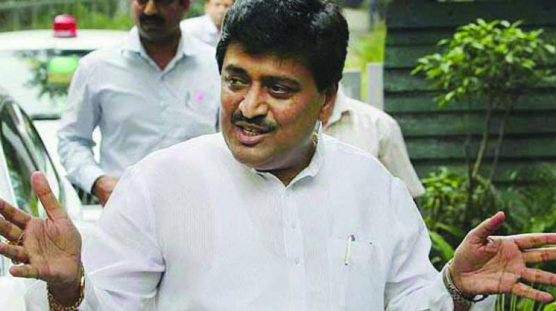 MPCC chief and former chief minister Ashok Chavan