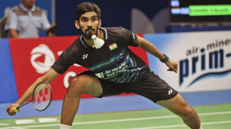 The world no.11 Srikanth won 22-20, 21-16 in a 45-minute clash against the world no.6 Chinese, who is also the current All England champion. (Photo: AP)