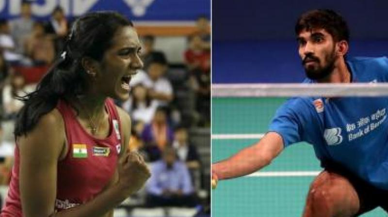 Olympic silver-medallist Sindhu, who claimed the World Tour Finals in December last year, will be the firm favourite to secure the women's title after receiving the top billing following the pullout of Chinese top seed and reigning All Englang champion Chen Yufei due to medical reasons. The absence of Japanese players will also help Sindhu's case. (Photo: PTI)