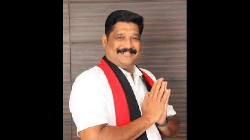 DMK MP Gautham Sigamani.