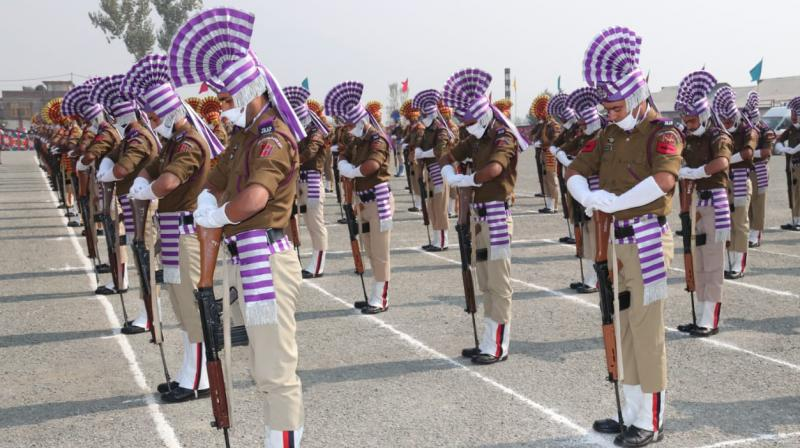 Police Commomeration Day in Jammu and Kashmir.