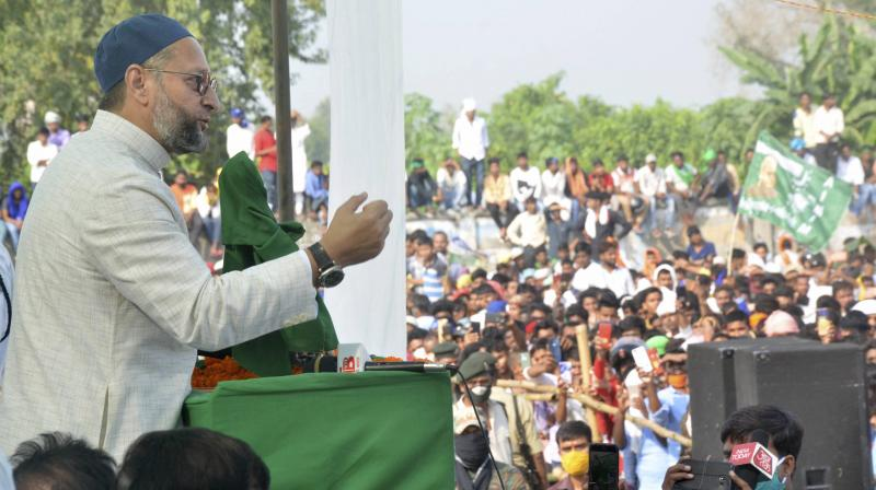 Owaisi's proposed rally has evoked sharp reactions from the ruling TMC. (PTI file)