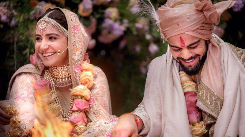 Anushka and Virat get married. (Photo source: Anushka Sharma's Twitter profile)