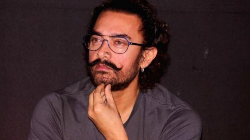 Aamir Khan at an event.