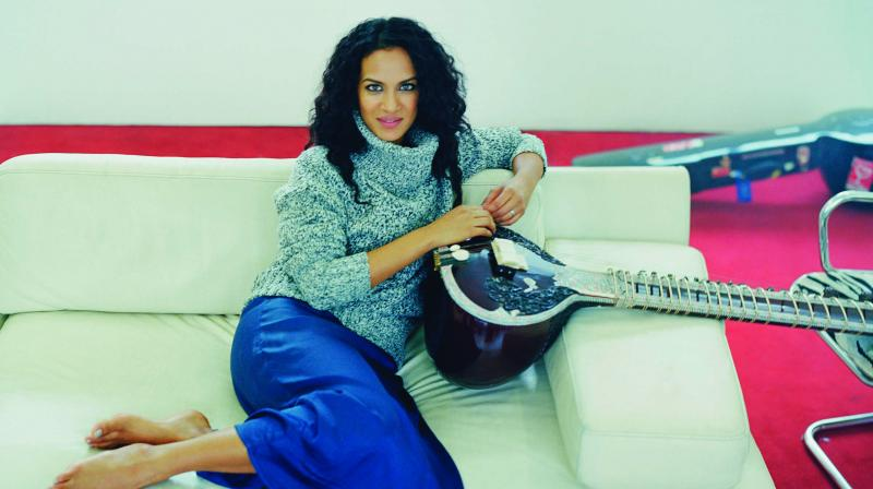 Anoushka Shankar has recently come out with her new album Land Of Gold. Her promotional tour is being curated by Alchemist Marketing Solutions and supported by Panache Media. (Photo: Jamie James Medina)