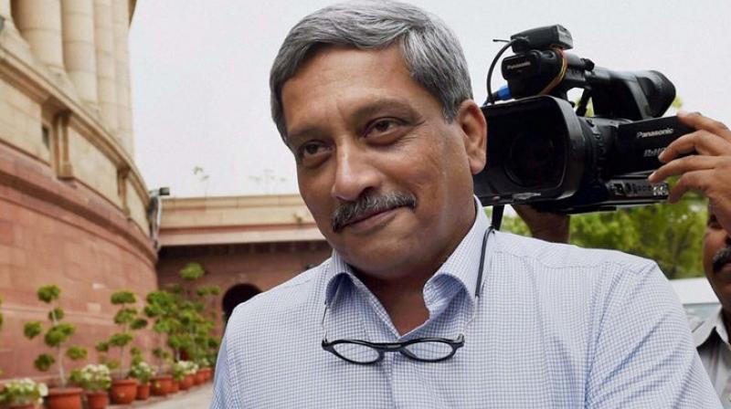 Goa Chief Mininster Manohar Parrikar (Photo: File)