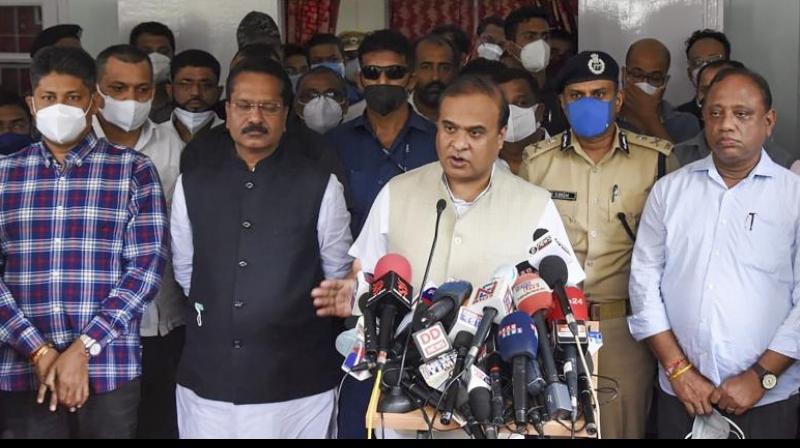 Assam Chief Minister Dr. Himanta Biswa Sarma (PTI)