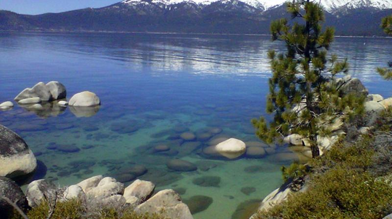 In 2018, Lake Tahoe's clarity regained the expected seasonal patterns that were disrupted by the extreme conditions of the previous year. (Photo: AP)