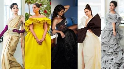 The most stylish of the lot of Indian celebrities who graced the red carpet at Cannes this year.