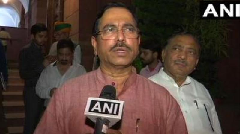 'The central government has taken various steps for development of mining sector in the country. The central government has also formulated National Mineral Policy, 2019 for a vibrant and forward looking mineral sector,' Prahlad Joshi said during Question Hour. (Photo: File | ANI)