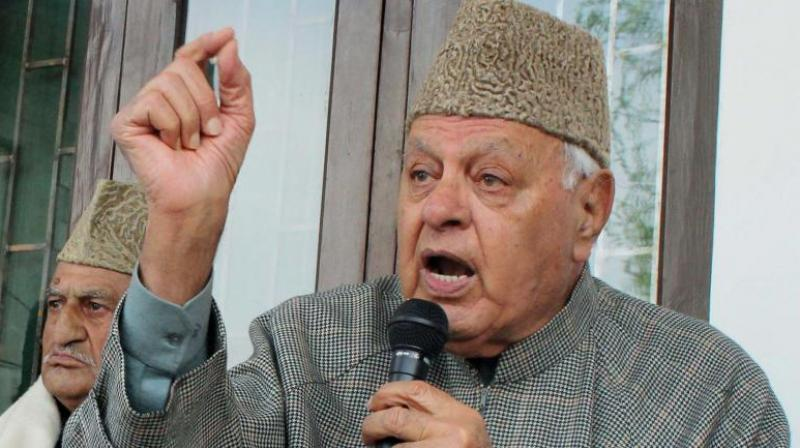 National Conference president Farooq Abdullah (Photo: PTI)