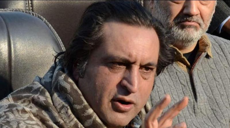 Sajjad Lone (PTI/file)
